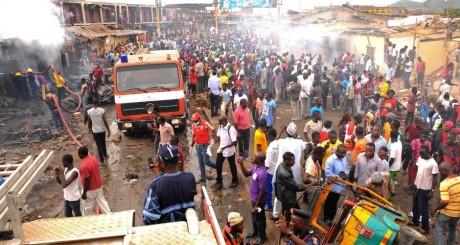 Après l'attentat de Jos, 20 mai 2014 / REUTERS