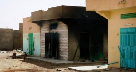 Bâtiments détruits après des combats à Kidal, juillet 2013 / REUTERS