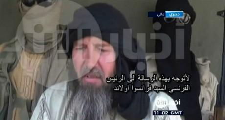 Capture d'écran de la vidéo de Serge Lazarevic / AFP