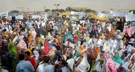 Manifestation d'opposants à Nouakchott, Mauritanie, juin 2012 / AFP