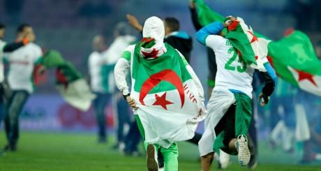 Des supporteurs algériens, 5 juin 2014, Genève / REUTERS