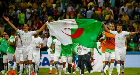 L'équipe algérienne après son match nul face à la Russie / REUTERS
