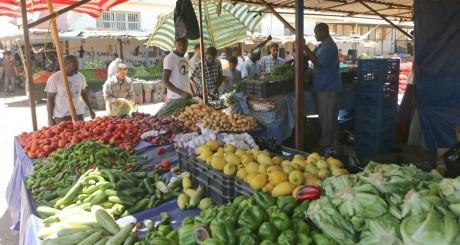 Marché de légumes à Benghazi, Libye / REUTERS