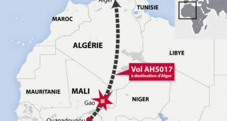Le vol AH 5017 a disparu des radars 50 minutes après son décollage de Ouagadougou