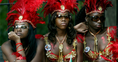 Des participantes au carnaval de Brooklyn, New York (2006) / REUTERS