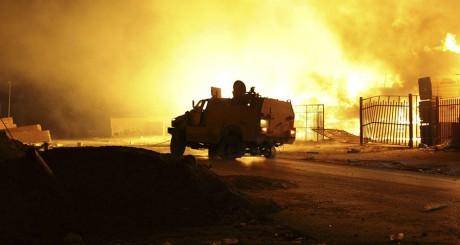 À Tripoli, le 24 août 2014. REUTERS/Stringer