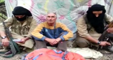 capture d'écran d'une vidéo diffusée par le groupe Jund Al-Khilafah / AFP
