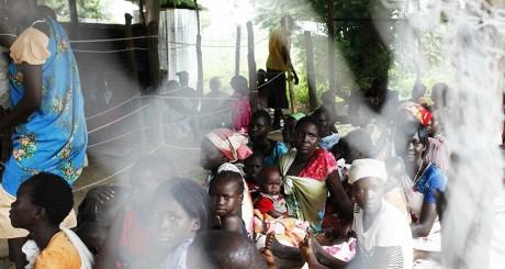 Au Sud-Soudan en juillet 2014, dans un centre de MSF. REUTERS/Andreea Campeanu