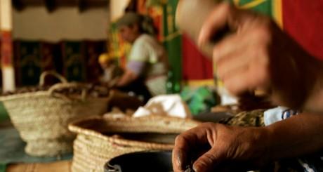 Atelier d'artisanat des femmes d'Essaouira / REUTERS