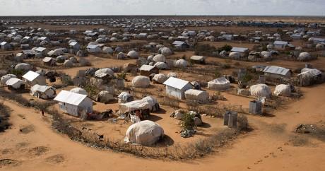Le Camp de réfugiés d'Ifo au Kenya. REUTERS/Siegfried Modola