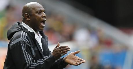 Stephen Keshi, nouvel entraîneur du Nigeria. REUTERS/Ueslei Marcelino
