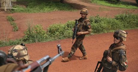 Des soldats français en République centrafricaine, le 31 mai 2014. REUTERS/Goran Tomasevic