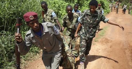 Des miliciens de la Sékéla en Centrafrique. REUTERS/Goran Tomasevic