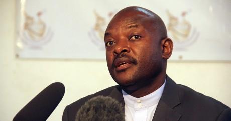 Pierre Nkurunziza, le président du Burundi le 8 mai 2015. REUTERS/Jean Pierre Aime Harerimana