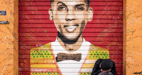 Une peinture à l'effigie de Stromae à Saint-Ouen, Paris. Crédit: Silvio Lucchini via Flickr.