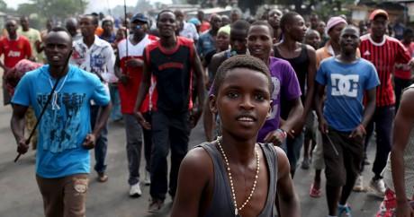 Une manifestation à Bujumbara, au Burundi, le 26 mai 2015. REUTERS