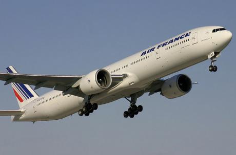 Un vol Air France. Mathieu Pouliot via Flickr