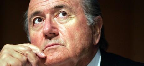 Le président de la Fifa, Joseph Blatter. REUTERS/Sebstian Derungs