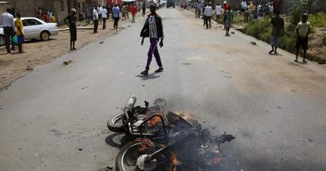 Bujumbara, le 30 mai 2015. REUTERS/Goran Tomasevic