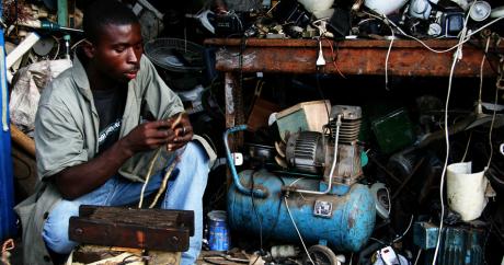 L'électricien. Crédit photo: Adam Cohn via Flickr
