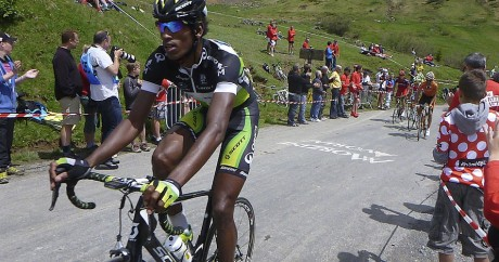 Daniel Teklehaimanot en juin 2012. Crédit photo: will_cyclist via Flickr