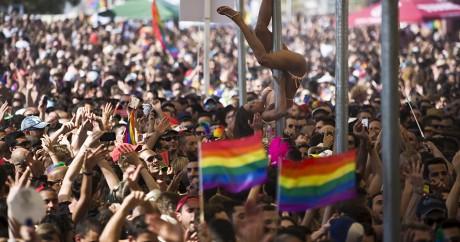 Gay pride à Tel Aviv, le 12 juin 2015. REUTERS/Amir Cohen