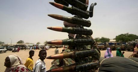 Un véhicule rebelle au Soudan du Sud. REUTERS/Stringer