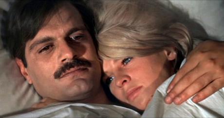 Omar Sharif et Julie Andrews dans «Docteur Jivago» de David Lean (1965)