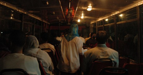 On the Rabat bus. Crédit photo: Zakaria ElQotbi via Flickr, Licensed by CC