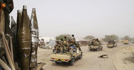 Des soldats tchadiens en opération contre Boko Haram. REUTERS/Emmanuel Braun