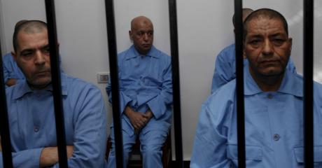 D'anciens officiels du régime Kadhafi toujours emprisonnés, cet été à Tripoli (REUTERS/Ismail Zitouny)