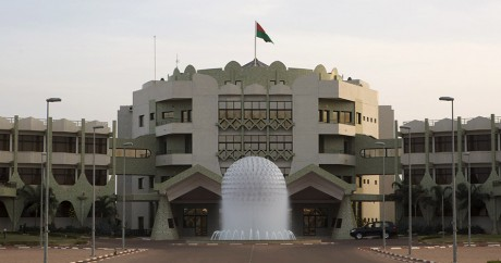 Le palais présidentiel du Burkina Faso. Photo: REUTERS/Joe Penney
