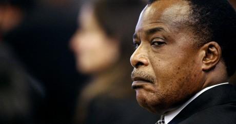 Le président congolais Sassou-Nguesso. Crédit photo: REUTERS/Pier Paolo Cito/Pool