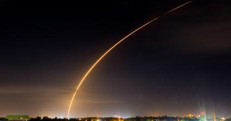 Lancement d'un satellite Eutelsat le 1er mai 2015 à Cape Canareval. Crédit photo: Michael Seeley, License by CC
