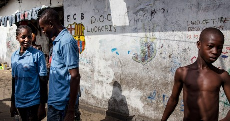 Monrovia, Liberia, le 22 janvier 2015. Crédit photo: Photo: UNMEER/Martine Perret via Flickr. License by CC
