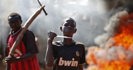 Scène de violence à Bambari, le 22 mai 2014. Crédit photo: REUTERS/Goran Tomasevic
