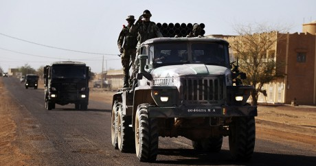 Des soldats maliens en 2013. REUTERS/Malin Palm