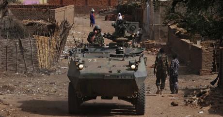 Des soldats irlandais déployés sous mandat de l'ONU dans l'est du Tchad en 2009. Crédit photo: REUTERS/Emmanuel Braun
