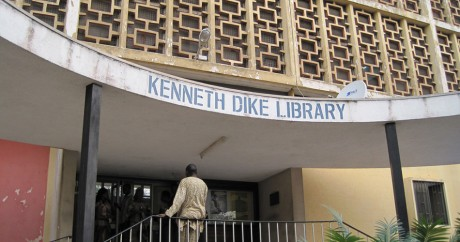The Kenneth Dike Library at University of Ibadan. Crédit photo: Michael Sean Gallagher via Flickr, CC.