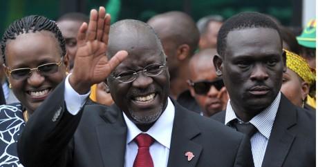 Le chef d'Etat de la Tanzanie, John Magufuli, le 30 octobre 2015. Crédit photo: REUTERS/Sadi Said