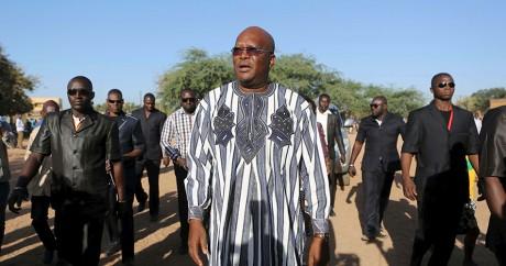 Roch Marc Christian Kaboré, nouveau président du Burkina, le 29 novembre 2015. Crédit photo: REUTERS/Joe Penney