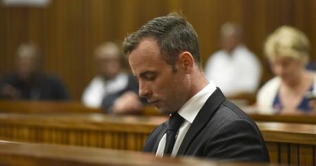 Oscar Pistorius lors d'une audience au tribunal de Prétoria, le 8 décembre 2015. Crédit photo: REUTERS/Herman