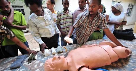 Une formation aux premiers secours en Ethiopie à l'hôpital Dil Chora en 2010. Crédit photo: US Army Africa