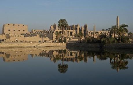 Vue en date du 21 décembre 2013 du temple de Karnak à Louxor  AFP/Archives KHALED DESOUKI
