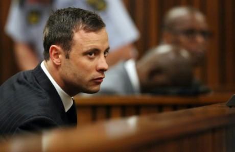 Oscar Pistorius lors de son procès, le 12 septembre 2014. Crédit photo: AFP/Siphiwe Sibeko