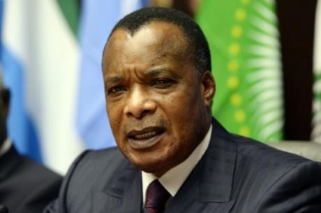 Le président du Congo-Brazzaville, Denis Sassou Nguesso, le 3 mars 2015 à Bruxelles AFP/Archives Thierry Charlier
