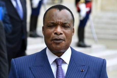 Le président congolais Denis Sassou Nguesso, le 7 juillet 2015 à Paris AFP/Archives Dominique Faget