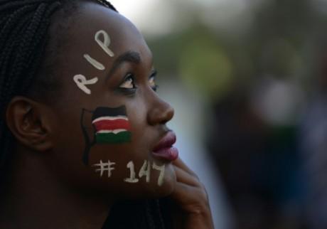 Un concert, le 14 avril 2015 à Nairobi, en hommage aux victimes de l'attaque terroriste de Garissa. Photo: AFP/Simon Maina