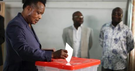 Le président du Congo-Brazzaville Denis Sassou Nguesso va briguer un nouveau mandat en 2016. Crédit photo: REUTERS/Roch Baku