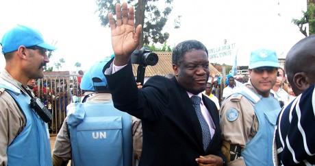 Le docteur Denis Mukwege le 14 janvier 2013 dans l'est du Congo. Crédit photo: STRINGER / AFP